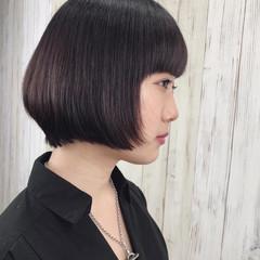 モテ髪 モード ショートボブ ボブ ヘアスタイルや髪型の写真・画像