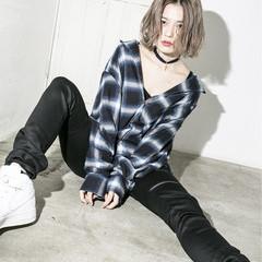 アッシュ ブラウン 外国人風 グラデーションカラー ヘアスタイルや髪型の写真・画像