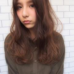 ロング アッシュ グラデーションカラー パーマ ヘアスタイルや髪型の写真・画像
