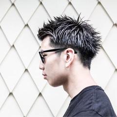 ボーイッシュ ストリート 黒髪 ショート ヘアスタイルや髪型の写真・画像