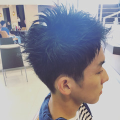 ボーイッシュ ショート ストリート メンズ ヘアスタイルや髪型の写真・画像