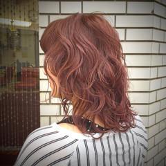 セミロング フェミニン 色気 マッシュ ヘアスタイルや髪型の写真・画像