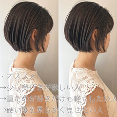 ショート 切りっぱなしボブ ショートヘア ショートボブ ヘアスタイルや髪型の写真・画像