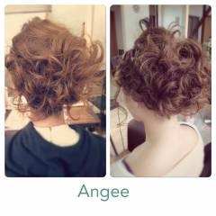 ヘアアレンジ モテ髪 コンサバ 愛され ヘアスタイルや髪型の写真・画像