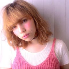 グラデーションカラー ガーリー 渋谷系 大人かわいい ヘアスタイルや髪型の写真・画像