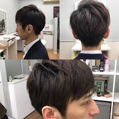 暗髪 コンサバ OL メンズ ヘアスタイルや髪型の写真・画像