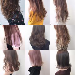 ボブ 外国人風カラー アッシュ グレージュ ヘアスタイルや髪型の写真・画像
