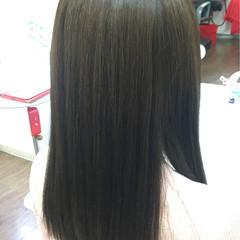 ブルージュ ストリート セミロング ハイライト ヘアスタイルや髪型の写真・画像
