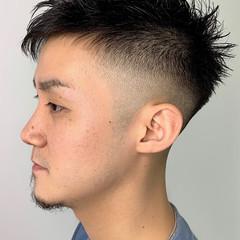メンズスタイル 刈り上げショート メンズヘア 刈り上げ ヘアスタイルや髪型の写真・画像