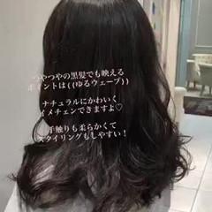 ナチュラル ダメージレス デジタルパーマ 無造作パーマ ヘアスタイルや髪型の写真・画像