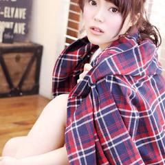 ポニーテール モテ髪 ヘアアレンジ ロング ヘアスタイルや髪型の写真・画像