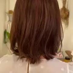 ミディアム モテボブ モード デートヘア ヘアスタイルや髪型の写真・画像
