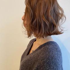 ナチュラル 切りっぱなしボブ ミニボブ ボブアレンジ ヘアスタイルや髪型の写真・画像