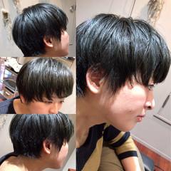ガーリー グラデーションカラー 暗髪 黒髪 ヘアスタイルや髪型の写真・画像