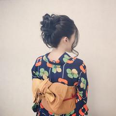 デート ヘアアレンジ ロング エレガント ヘアスタイルや髪型の写真・画像