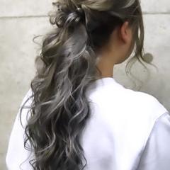 ヘアアレンジ 二次会 ヘアセット エレガント ヘアスタイルや髪型の写真・画像