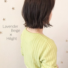 ミディアムレイヤー 切りっぱなし 切りっぱなしボブ ミディアム ヘアスタイルや髪型の写真・画像