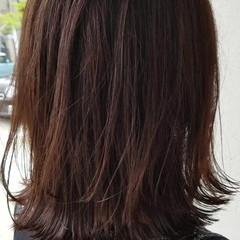 ウェーブ エフォートレス ボブ フェミニン ヘアスタイルや髪型の写真・画像