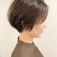 ショートヘア ショート 大人かわいい デート ヘアスタイルや髪型の写真・画像