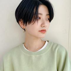 大人ショート ショートヘア ショート ナチュラル ヘアスタイルや髪型の写真・画像