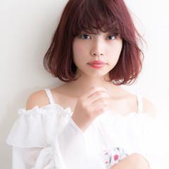 似合わせ フェミニン 透明感 ショート ヘアスタイルや髪型の写真・画像