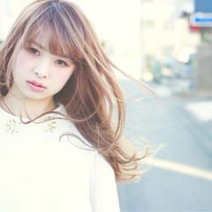 かわいい ストレート 色気 ガーリー ヘアスタイルや髪型の写真・画像