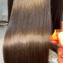 ナチュラル トリートメント 最新トリートメント 髪質改善 ヘアスタイルや髪型の写真・画像