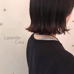 切りっぱなし 切りっぱなしボブ グラデーションカラー ストリート ヘアスタイルや髪型の写真・画像