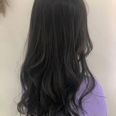透明感カラー ハイライト ナチュラル ロング ヘアスタイルや髪型の写真・画像