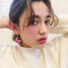 パーマ 簡単 ショート 外国人風 ヘアスタイルや髪型の写真・画像