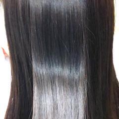ツヤ髪 縮毛矯正 セミロング 美髪 ヘアスタイルや髪型の写真・画像