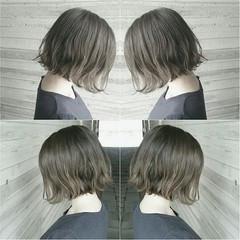 外国人風 ショート ストリート ボブ ヘアスタイルや髪型の写真・画像