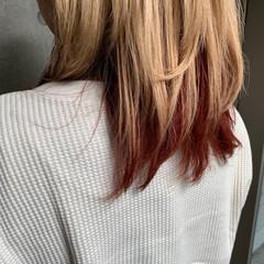 ミディアム ショートボブ ショートヘア 切りっぱなしボブ ヘアスタイルや髪型の写真・画像