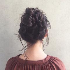 ヘアアレンジ ウェーブ アンニュイ デート ヘアスタイルや髪型の写真・画像
