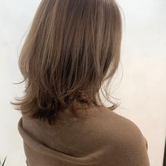 ストリート ミディアム ハイライト 極細ハイライト ヘアスタイルや髪型の写真・画像