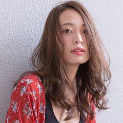 秋 リラックス 外国人風 大人かわいい ヘアスタイルや髪型の写真・画像