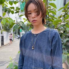 コスメ・メイク ウルフカット ストレート ショート ヘアスタイルや髪型の写真・画像