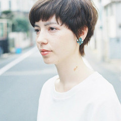 ショート ストリート 外国人風 ヘアスタイルや髪型の写真・画像