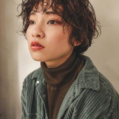 ショート 大人かわいい 外国人風 ショートヘア ヘアスタイルや髪型の写真・画像