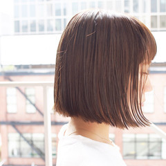 アッシュ ハイライト グレージュ アッシュベージュ ヘアスタイルや髪型の写真・画像