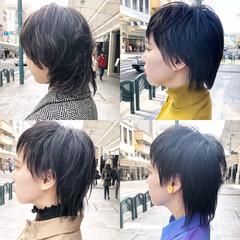 ネオウルフ ショート ウルフ ストリート ヘアスタイルや髪型の写真・画像