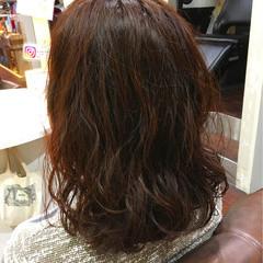 冬 色気 ゆるふわ 暗髪 ヘアスタイルや髪型の写真・画像