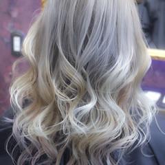 外国人風カラー ブリーチ ダブルカラー ダブルブリーチ ヘアスタイルや髪型の写真・画像