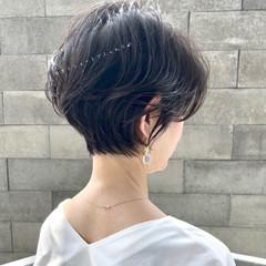 エレガント ショートカット ショート ショートヘア ヘアスタイルや髪型の写真・画像