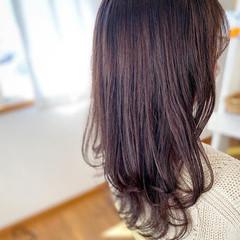 チョコレート ガーリー ロング ショコラブラウン ヘアスタイルや髪型の写真・画像