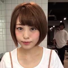 ショート ガーリー 巻き髪 前髪あり ヘアスタイルや髪型の写真・画像