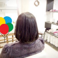 黒髪 ゆるふわ 大人かわいい フェミニン ヘアスタイルや髪型の写真・画像