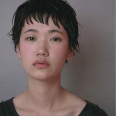 ナチュラル ショート 前髪あり ベリーショート ヘアスタイルや髪型の写真・画像