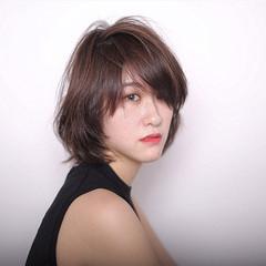 大人女子 モード 色気 ボブ ヘアスタイルや髪型の写真・画像