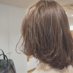 マッシュ ボブ 外国人風 イルミナカラー ヘアスタイルや髪型の写真・画像